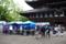 京都新聞写真コンテスト「雨上がりの弘法さん」
