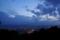 京都新聞写真コンテスト「梅雨空の夕暮れ」