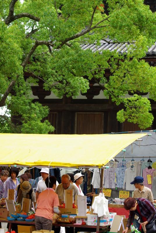 京都新聞写真コンテスト「初夏の売り声」