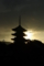 京都新聞写真コンテスト「8月の夜明け」
