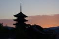 京都新聞写真コンテスト「夜明け前」