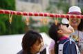 京都新聞写真コンテスト「パン食い競走」