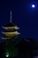 京都新聞写真コンテスト「雪待月」