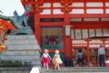 京都新聞写真コンテスト 「稲荷で見たふたりの天使」