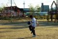 京都新聞写真コンテスト 「毎朝リフティング」