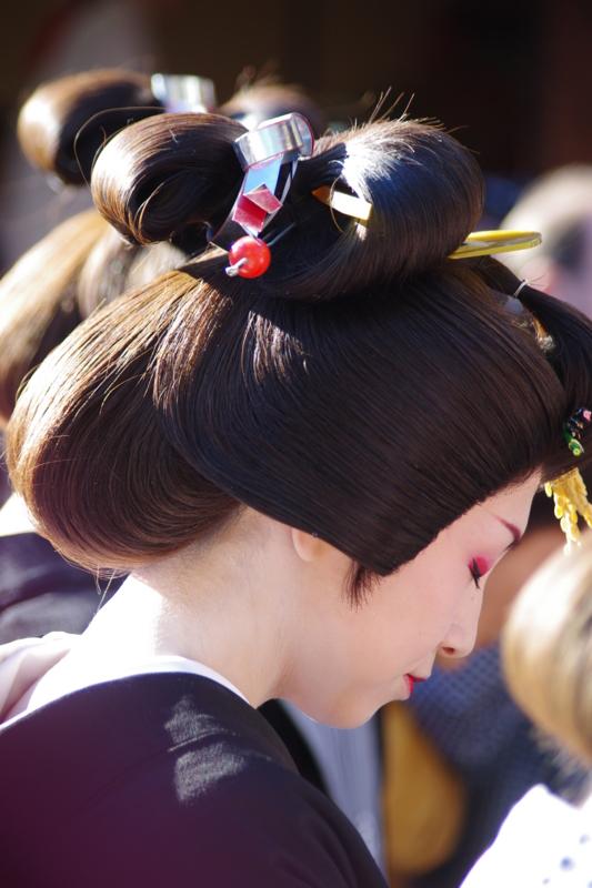京都新聞写真コンテスト「宝恵駕籠参詣」