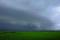 京都新聞写真コンテスト 「近江平野に龍の雲」