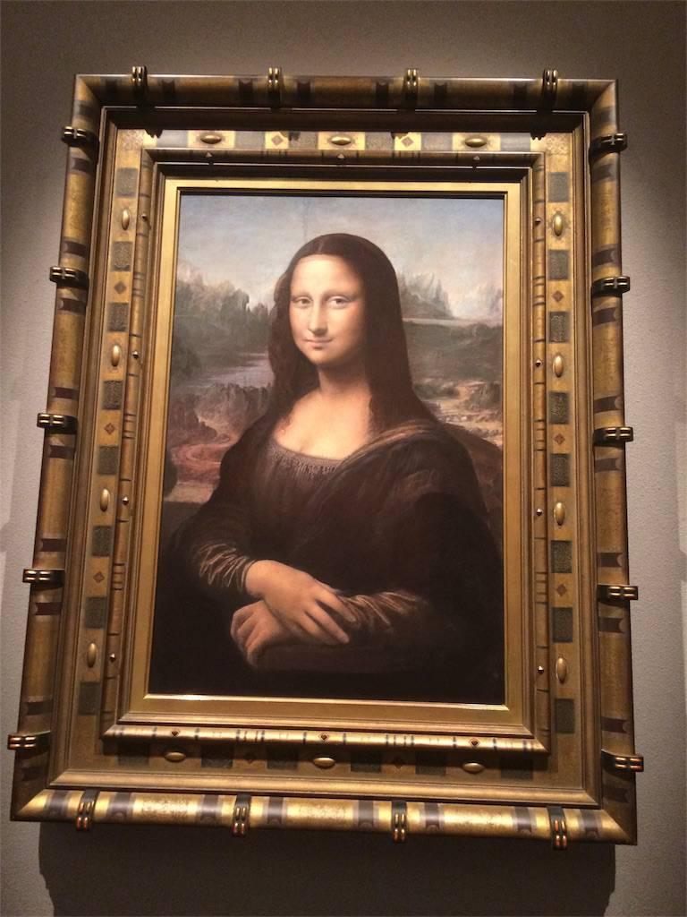 絵画モナ・リザの写真