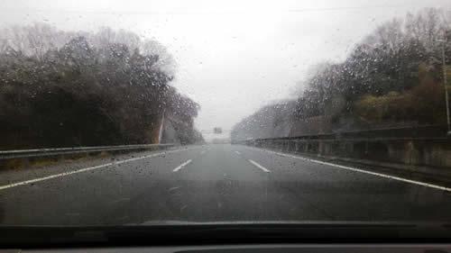 高速道路の状況(三重県)