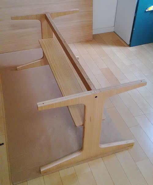 棚板の設置