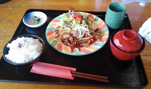 丹波牛の焼肉定食