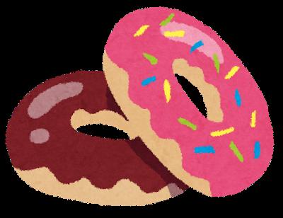 ストレス 甘い物 ドーナツ 食べたい