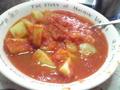 ジャガイモのトマト煮込み