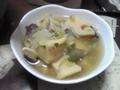 椎茸と筍の中華スープ