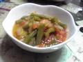 さやいんげんのトマトスープ