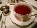 紅茶と茶こし:ハロッズ