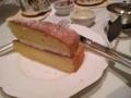 ヴィクトリアケーキ:ハロッズ