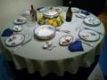 テーブルセッティング:フランス印象派の陶磁器1866ー1886