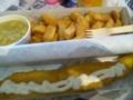 フィッシュ&チップスとマッシュピーズ(Bセット):マリン