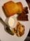 レモンケーキ、ウィルシュケーキ、クルミのタルト:マグノリアカフェ