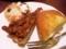 ウィルシュケーキにクロテッドクリーム:マグノリアカフェ