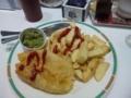 フィッシュ&チップスとマッシュピーズ:マリン六本木