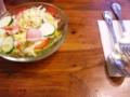 シェパッツパイのサラダ:Al's Cafe