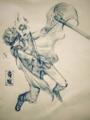 [FF][鉛筆4B] 青魔バッツ習作
