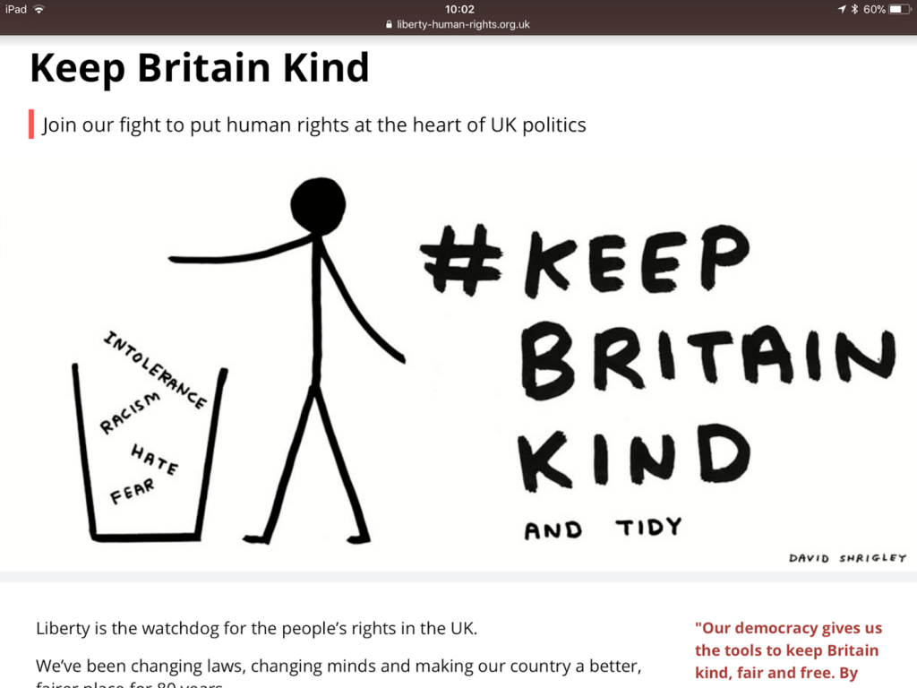 keep britain kind