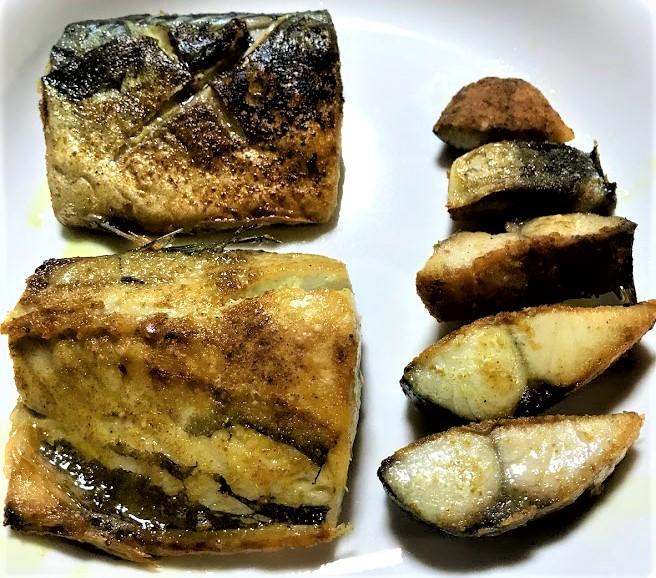 【酒の肴】サバのカレー風味オリーブオイル焼き