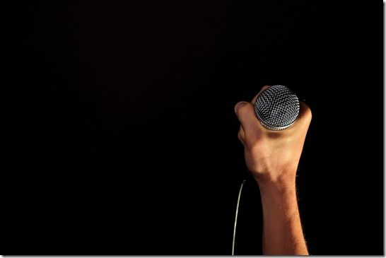 hand-microphone-mic-hold-fist-isolated-black