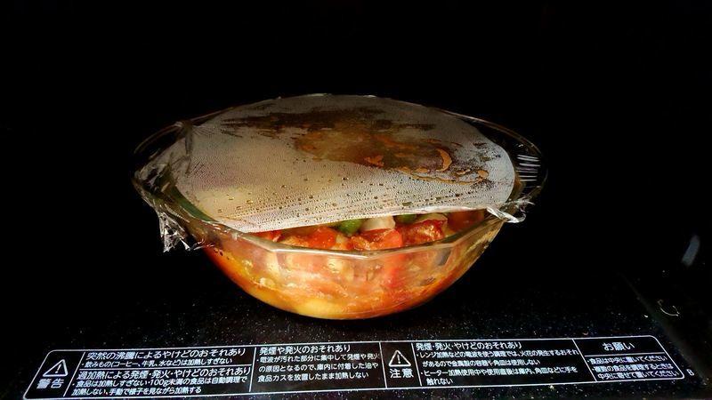 トマト風味の洋風鶏じゃが_8