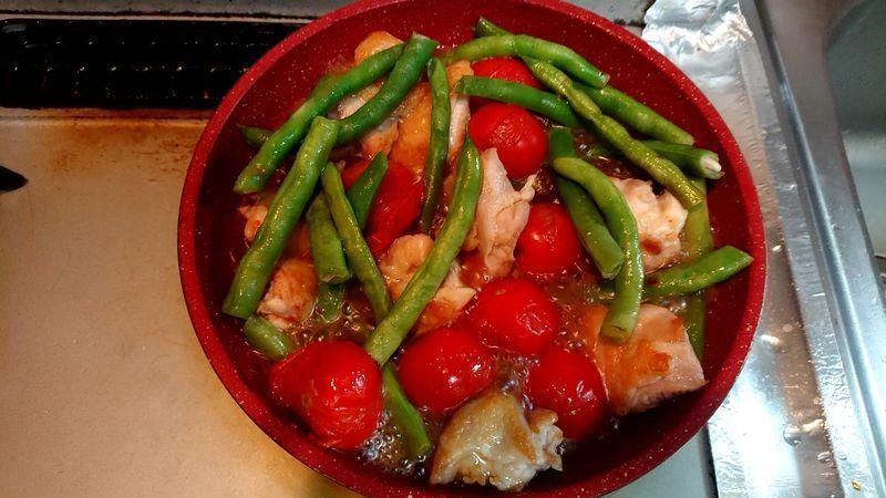 鶏もも肉の甘酢煮_8