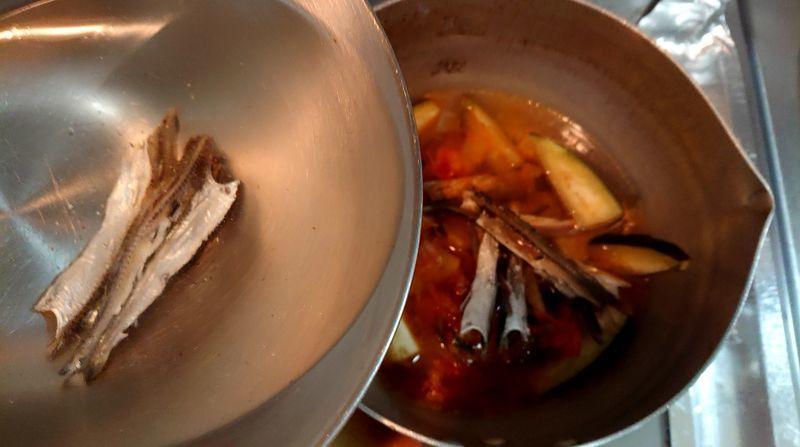 夏野菜のキムチスープ_7