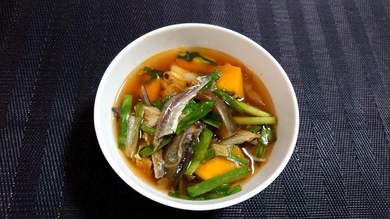 夏野菜のキムチスープ_完成