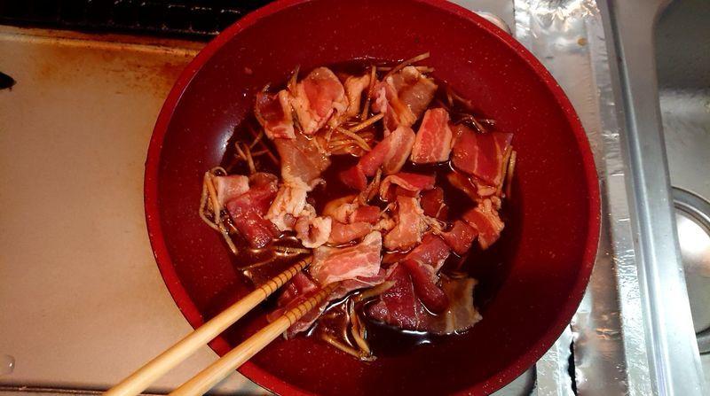 豚肉ときゅうりのサッと煮_3