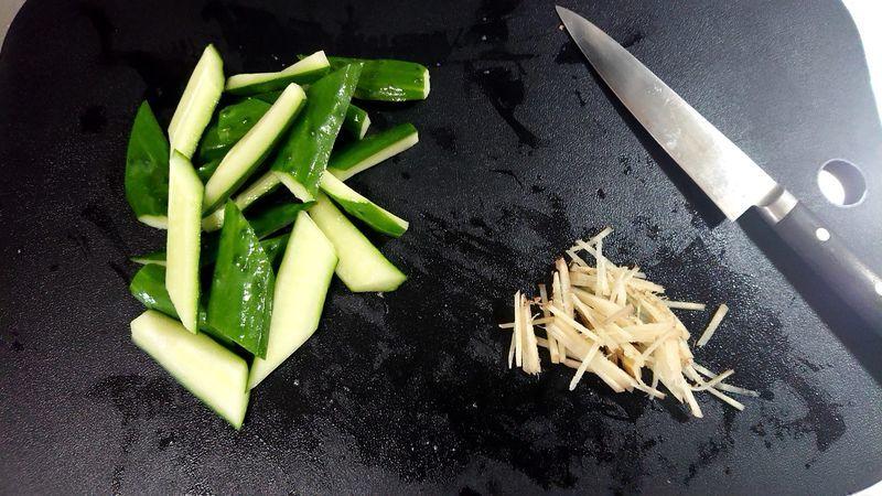 豚肉ときゅうりのサッと煮_2