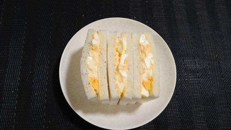 卵サンド_完成