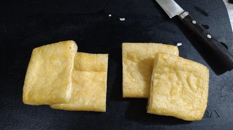 納豆キムチの油揚げ挟み焼き_1