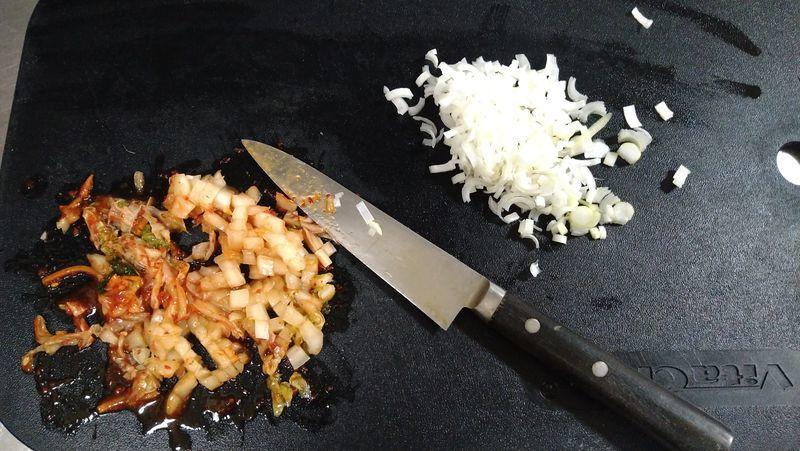 納豆キムチの油揚げ挟み焼き_2