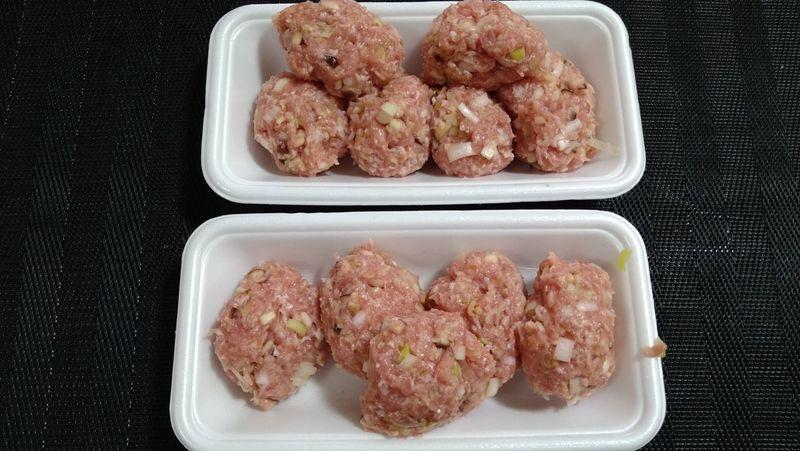 肉だんごとトロトロ白菜の鍋_4