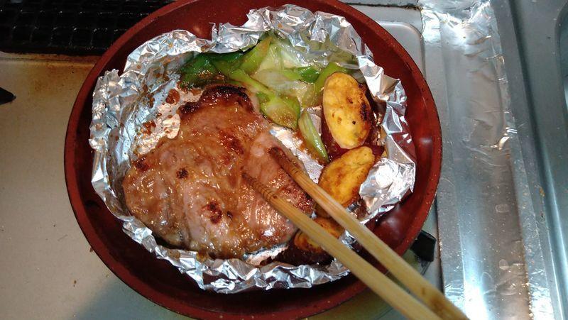 豚肉のコクみそ焼き_9