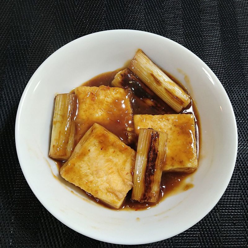 ねぎと豆腐のうま煮_完成