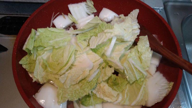 白菜のクリーム煮_6