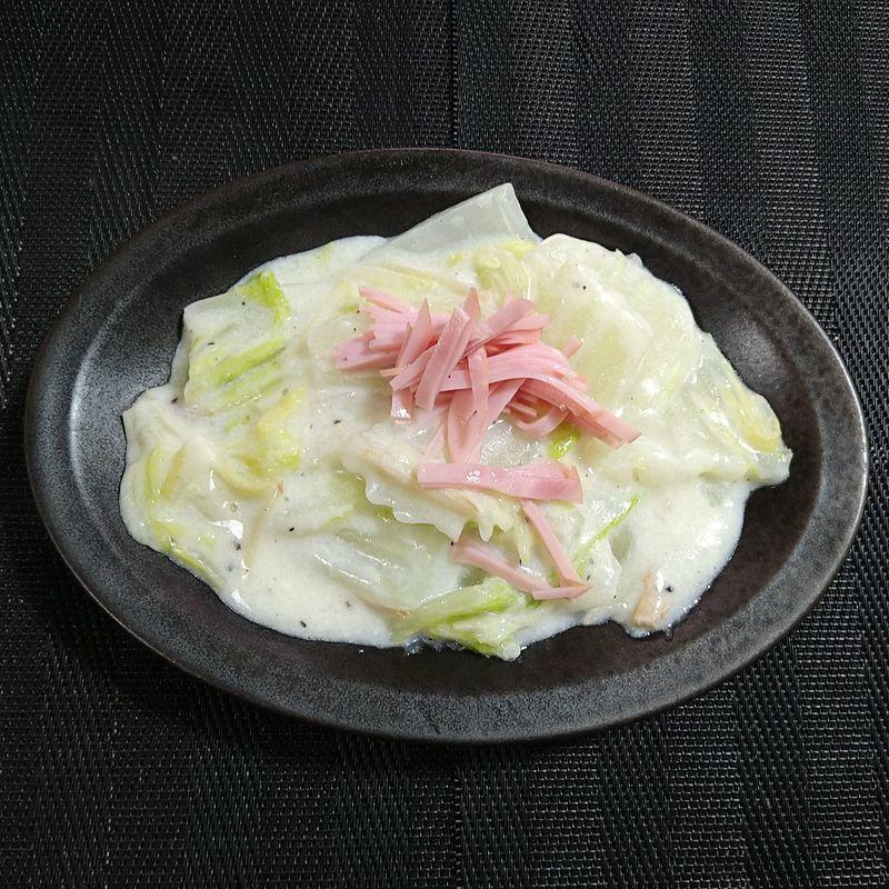 白菜のクリーム煮_完成