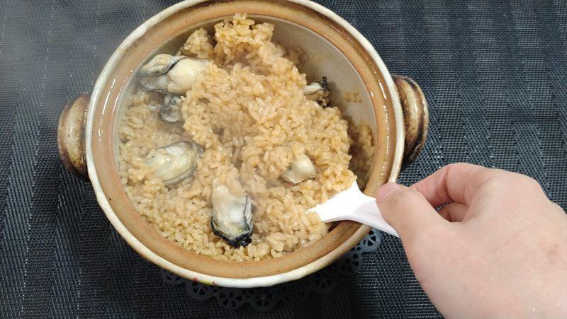 かきの炊き込みご飯_8
