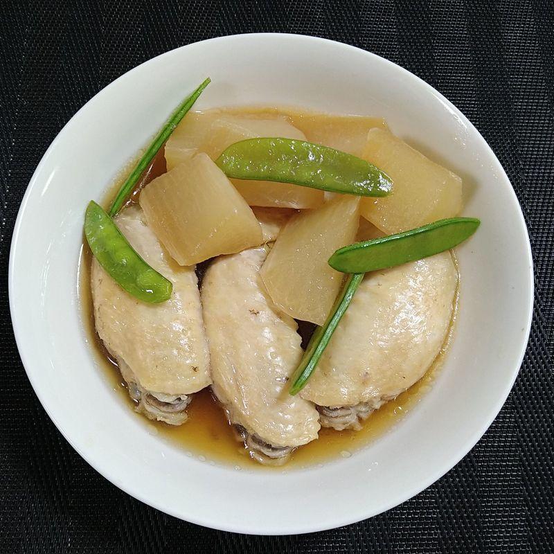 鶏手羽大根の煮物_完成
