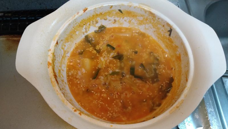 鶏肉のキムチ鍋_7
