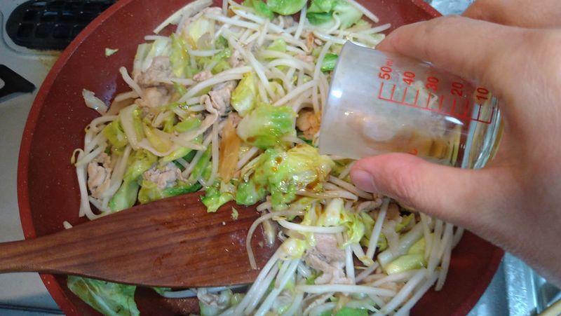 春キャベツで肉野菜炒め_10
