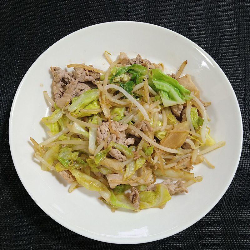 春キャベツで肉野菜炒め_完成
